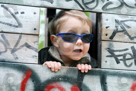 Sweet boy stock photo,  by Yvonne Bogdanski