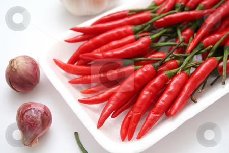 Fresh chili stock photo,  by Yvonne Bogdanski