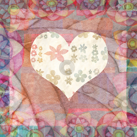 hearts  stock photo, Background with hearts by Vita Masi