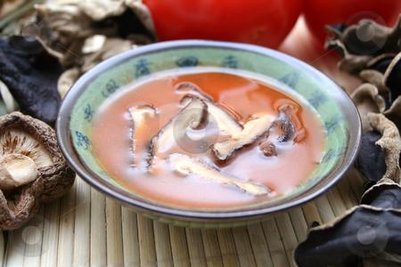 Asian soup stock photo,  by Yvonne Bogdanski