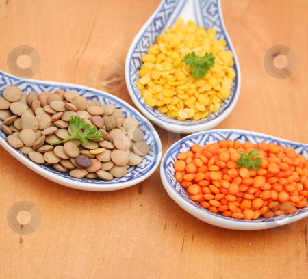 Lentils stock photo,  by Yvonne Bogdanski