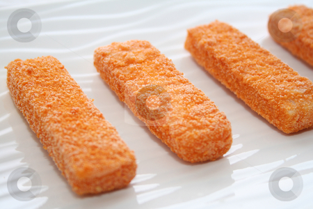 Fishsticks stock photo,  by Yvonne Bogdanski