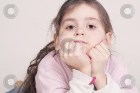 Little girl stock photo,  by Yvonne Bogdanski