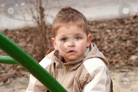 Young boy stock photo, Kinderportrait by Yvonne Bogdanski