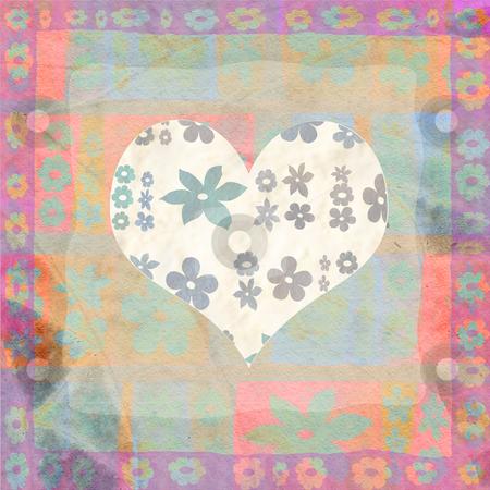 hearts  stock photo, Background with hearts by Vita Masi