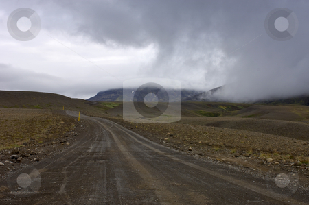 Kjolur Tempest stock photo, A brewing storm on the Kjolur Highland Route in Iceland by Corepics VOF