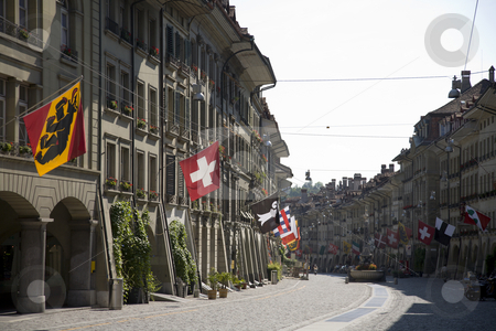 Old Town of Bern stock photo, Old Town of Bern, Switzerland, Europe by mdphot