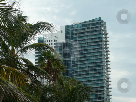 Miami beach building stock photo, Building on miami beach by Fabrice Teboul