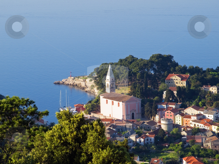 Veli Losinj stock photo, Small town on the island  Losinj.Northern Adriatic, Croatia by Sinisa Botas