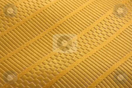 Tissue Texture stock photo, Close up of yellow texture taken from a tie by Gabriele Mesaglio