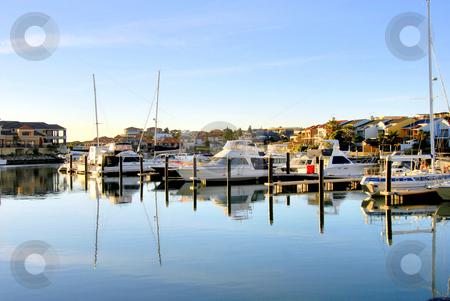 Marina stock photo, Mindarie Marina Australia by Laura Smith