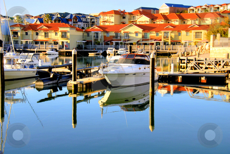 Marina stock photo, Mindarie Marina Australia by Laura Smith