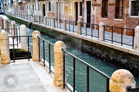 Venice canal stock photo, Venice canal by Jaime Pharr