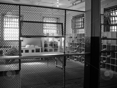 Alcatraz prison stock photo, Room in Alcatraz prison by Jaime Pharr