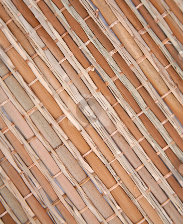 Bamboo 3 stock photo, Bamboo texture background bound together in a pattern by Stacy Barnett