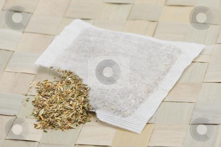 Herbal tea bag stock photo,  by Andrey Butenko