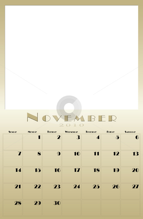 Monthly 2010 calendar stock photo, Every month of the 2010 year calendar by Vlad Podkhlebnik