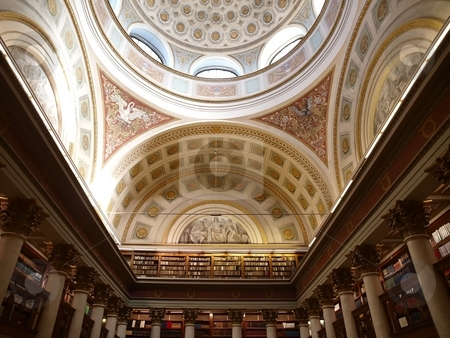 National Library of Finland  stock photo, National Library of Finland by Lars Kastilan