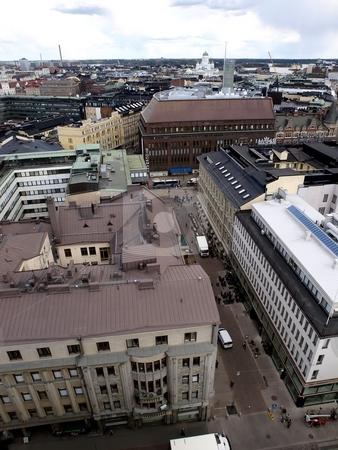 Architecture in Helsinki stock photo, Buildings in Helsinki by Lars Kastilan