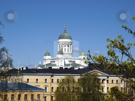 Helsinki Cathedral  stock photo, Helsinki Cathedral by Lars Kastilan