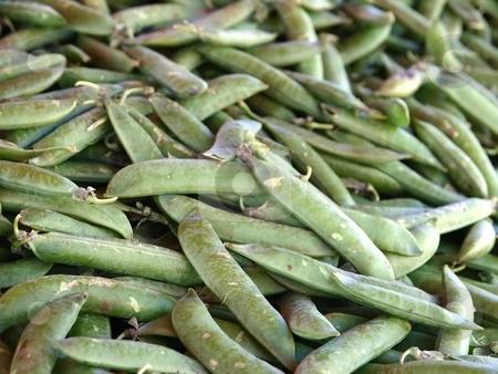 Peas stock photo, Peas at the market by Lars Kastilan