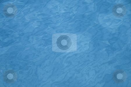 Mallorca stock photo, Blue water background with small ripples by Wolfgang Zintl