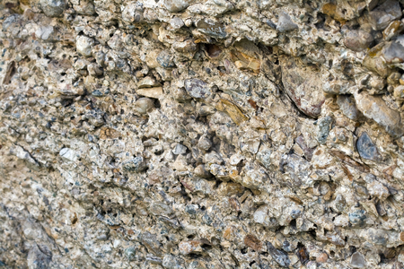 Background stock photo, Concrete close-up that can be used for background by Dennis Crumrin