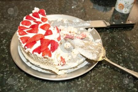 Strawberry tiramisu stock photo, Creamy rich strawberry version of an old Italian favorite dessert. by Mariusz Jurgielewicz