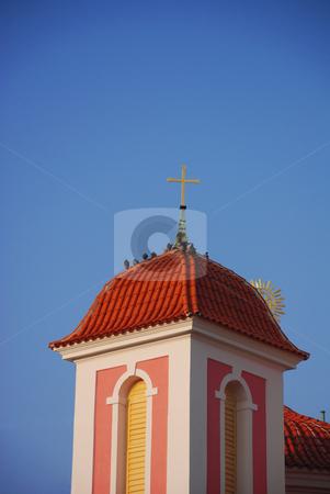 Czech church stock photo, Christian chruch in the center of Kladno, Czech Republic. by Petr Svec