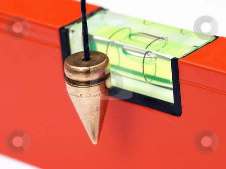 Leveling instruments stock photo, Precise instruments for measuring in  masonry and construction. by Sinisa Botas