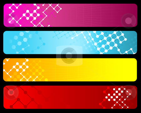 Abstract backgrounds stock vector clipart, Abstract design backgrounds by Kirsty Pargeter
