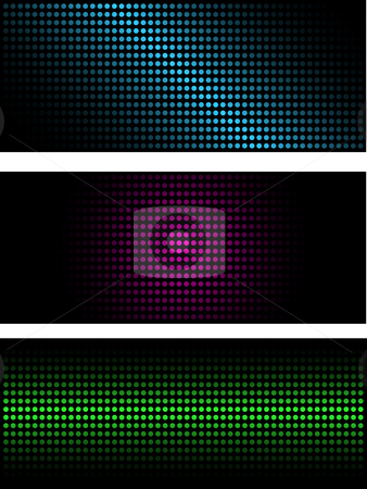Abstract backgrounds stock vector clipart, Abstract backgrounds of halftone dots by Kirsty Pargeter