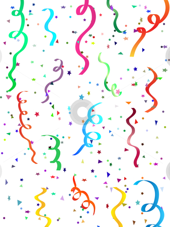 Falling confetti stock vector clipart, Falling confetti by Kirsty Pargeter