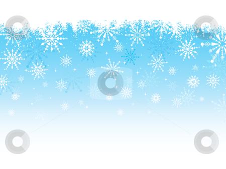 Grunge snowflake background stock vector clipart, Grunge style snowflake background by Kirsty Pargeter