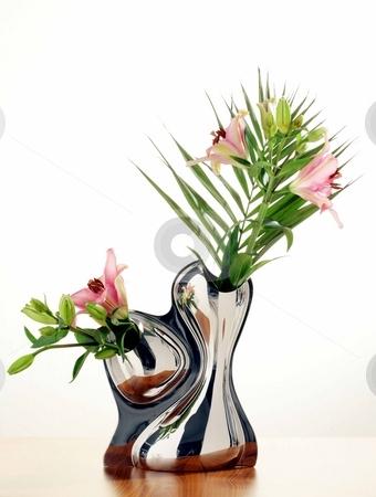 Modern vase stock photo, Studio image of a modern vase by Anastasia Tsoupa