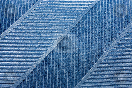 Tissue Texture stock photo, Close up of cyan texture taken from a tie by Gabriele Mesaglio