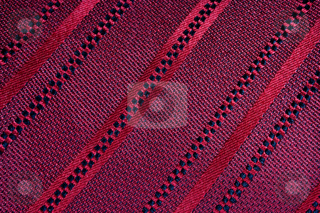 Tissue Texture stock photo, Close up of red texture taken from a tie by Gabriele Mesaglio