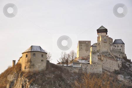 TRENCIN CASTLE  stock photo, Trencin castle shoot on early morning. by Patrik Ruzic