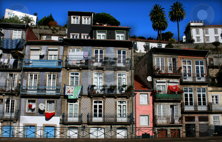 House stock photo, House behind a hill in portugal by Marc Torrell