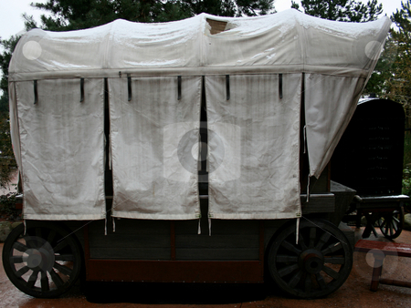 Carriage stock photo, Far west carriage by Marc Torrell