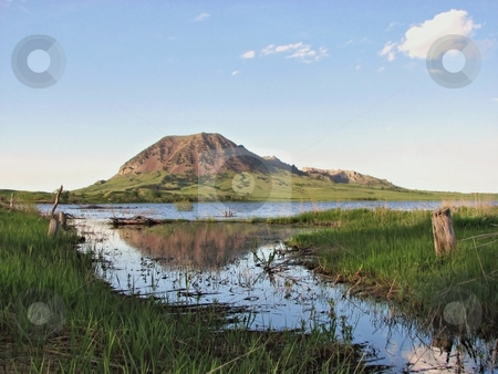Bear Butte stock photo, Taken near Newell And Sturgis South Dakota! by Brian Meyer