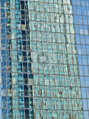 Modern skyscraper details stock photo, Modern skyscraper details with reflection HDR processed by Laurent Dambies