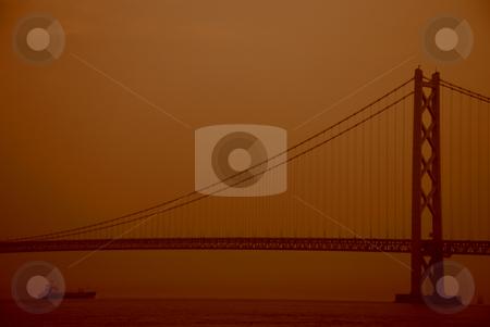 Akashi kaikyo bridge stock photo, Akashi kaikyo bridge in japan by Alvin Gacusan