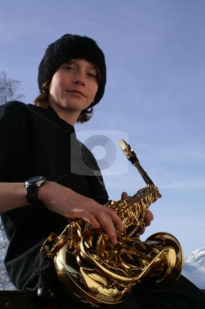 Blues Boy stock photo,  by Florian Huber
