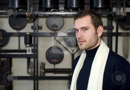 Designer portrait stock photo, Portrait of a smart looking designer by Corepics VOF