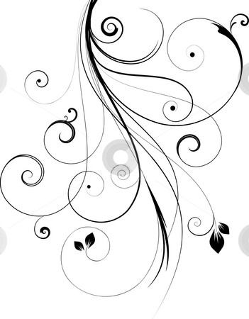Decorative design stock photo, Decorative abstract design by Kirsty Pargeter