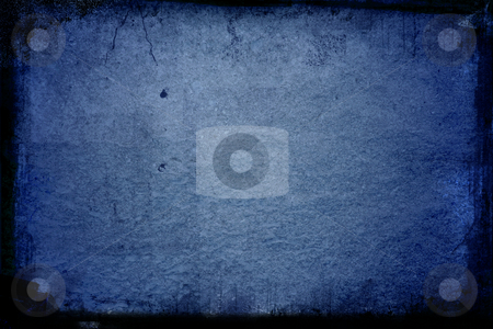 Blue Grunge texture stock photo, Old grunge texture by Kirsty Pargeter