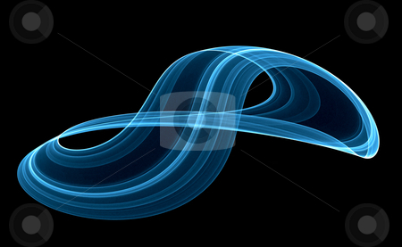 Flowing abstract stock photo, Abstract background of flowing curves by Kirsty Pargeter