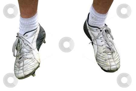 Soccer Shoes stock photo, A pair of male football shoes by Reinhart Eo