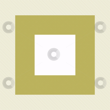 Retro frame stock photo, Frame with empty square center in sepia brown colors by Wino Evertz